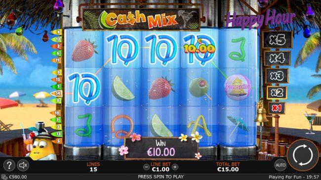 Cash Mix :: Four of a kind