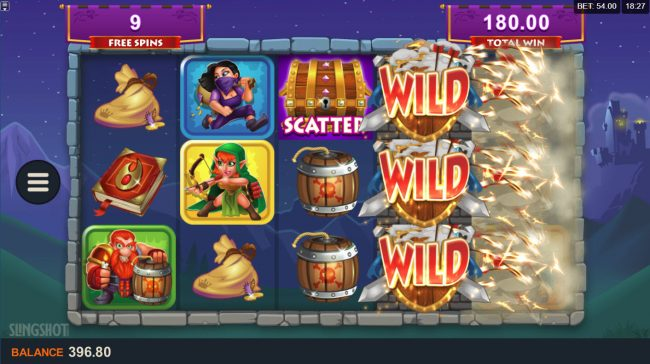 Intercasino featuring the Video Slots Cash of Kingdoms with a maximum payout of $100,000