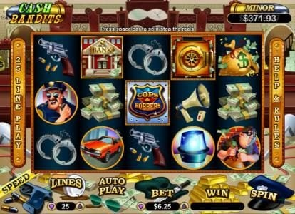 Play slots at Pure Vegas: Pure Vegas featuring the Video Slots Cash Bandits with a maximum payout of $250,000