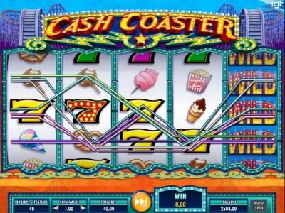 Play slots at Egypt Slots: Egypt Slots featuring the Video Slots Cash Coaster with a maximum payout of $250,000