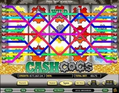 Celtic featuring the Video Slots Cash Cogs with a maximum payout of $800