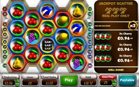 Gorilla featuring the Video Slots CashDrop with a maximum payout of Jackpot