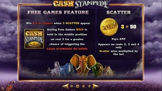Play slots at Enzo Casino: Enzo Casino featuring the Video Slots Cash Stampede with a maximum payout of $20,000