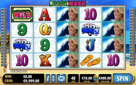 Play slots at Secret Slots: Secret Slots featuring the Video Slots Cash Wave with a maximum payout of $10,000
