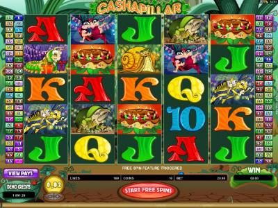 Play slots at Lapalingo: Lapalingo featuring the Video Slots Cashapillar with a maximum payout of $1,200,000