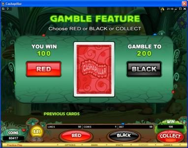 Zet Casino featuring the Video Slots Cashapillar with a maximum payout of $1,200,000