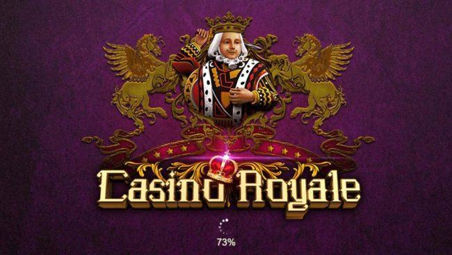 Casino Royale :: Splash screen - game loading