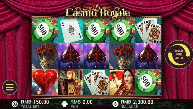 Casino Royale :: Main Game Board