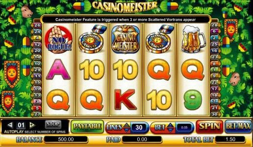 Noxwin featuring the Video Slots Casinomeister with a maximum payout of $200,000