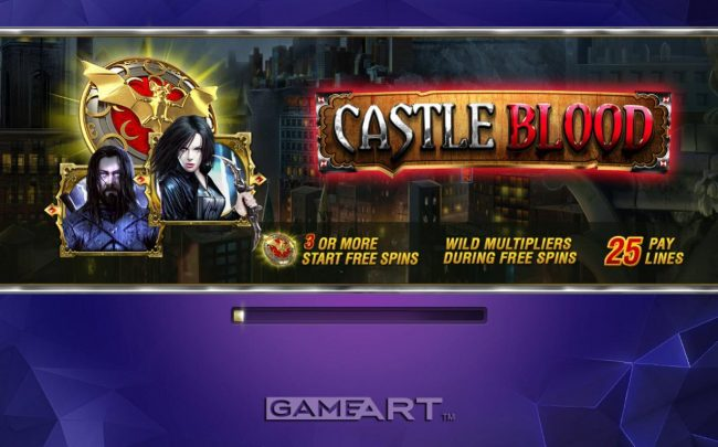 LaFiesta featuring the Video Slots Castle Blood with a maximum payout of $7,500