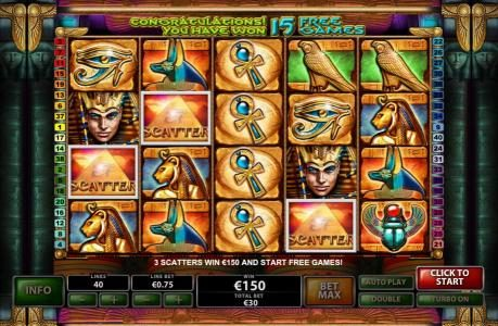 Grand Wild featuring the Video Slots Cat Queen with a maximum payout of $20,000
