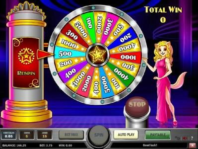 Spin Hill featuring the Video Slots Cats and Cash with a maximum payout of $10,000