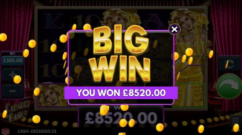 Cabaret Cash :: Big Win