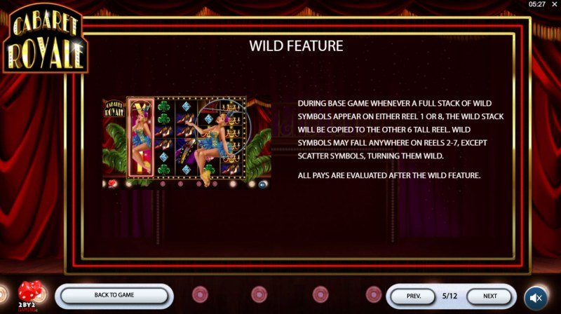 Cabaret Royale :: Wild Feature