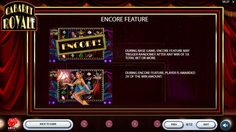 Cabaret Royale :: Encore Feature