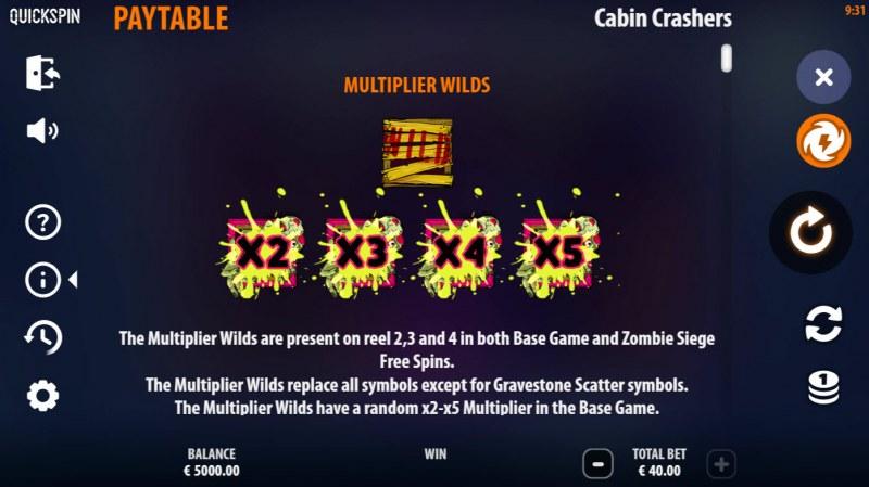 Cabin Crashers :: Multiplier Wilds
