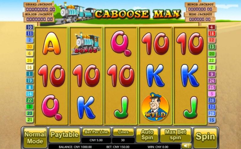 Caboose Man :: Main Game Board
