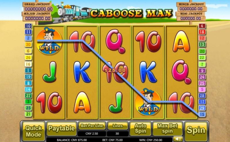 Caboose Man :: Five of a kind