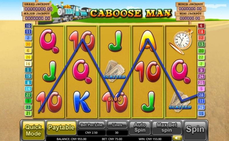 Caboose Man :: Three of a kind