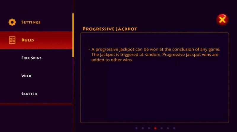 Caesar's Conquest :: Jackpot Rules