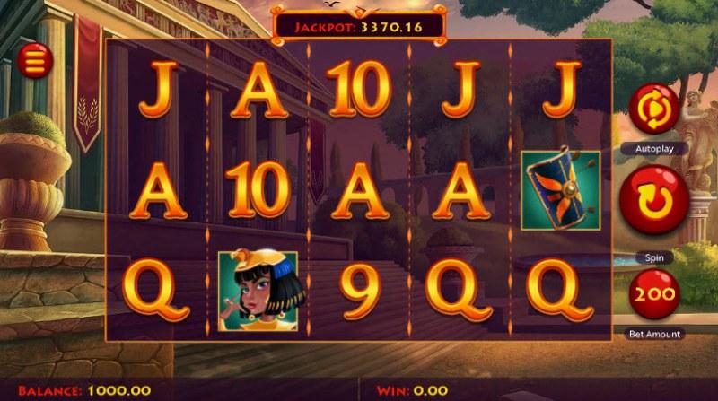 Caesar's Conquest :: Main Game Board