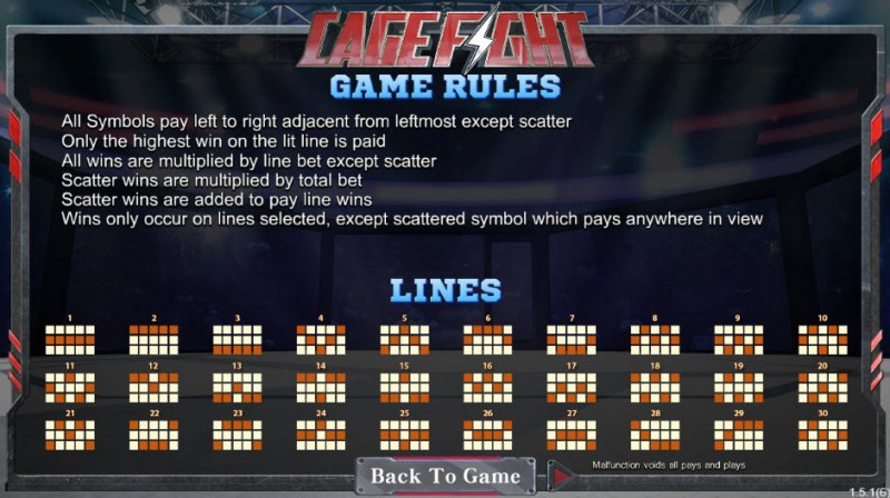 Cage Fight :: General Game Rules