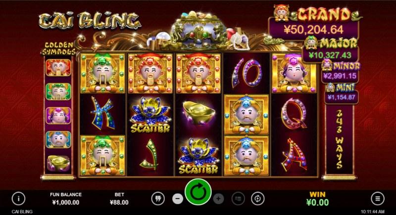 Cai Bling :: Main Game Board