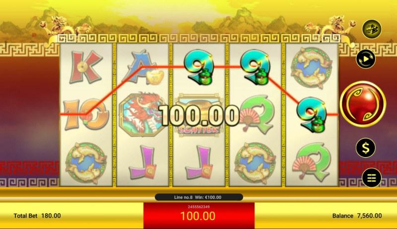 Cai Yuan Guang Jin :: Game pays in both directions