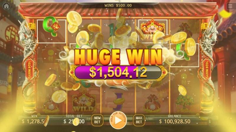 Cai Yuan Guang Jin :: Huge Win
