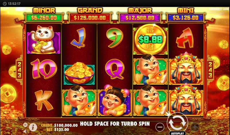 Caishen's Cash :: Main Game Board