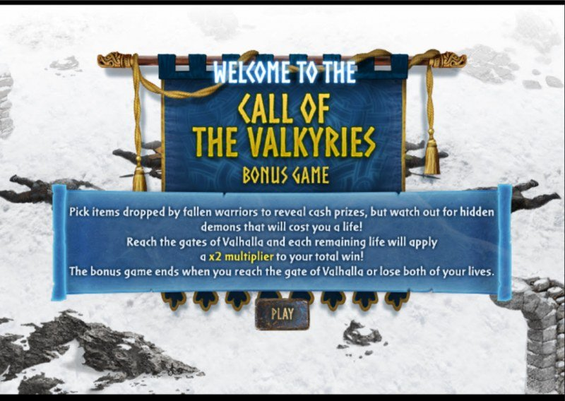Call of the Valkyries :: Bonus feature activated