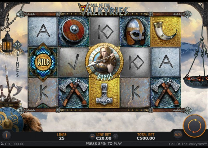 Call of the Valkyries :: Main Game Board
