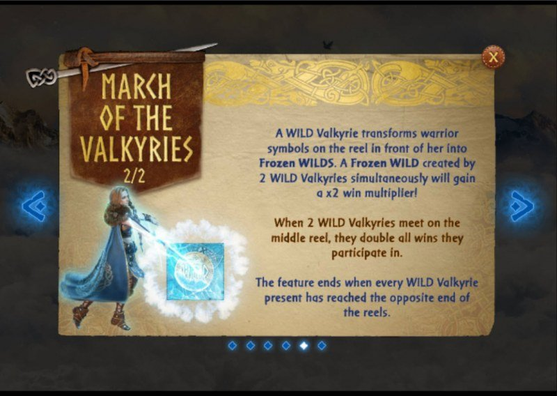 Call of the Valkyries :: Feature Rules