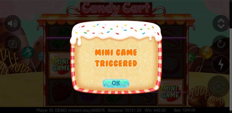 Candy Cart :: Mini Game trigged