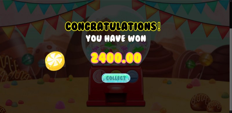 Candy Cart :: Total Feature Payout