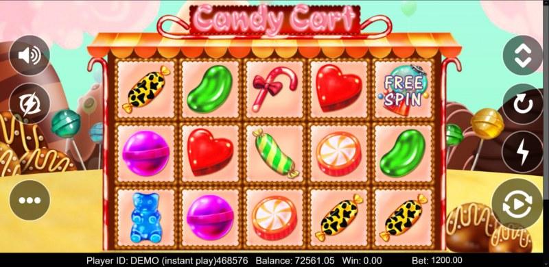 Candy Cart :: Main Game Board