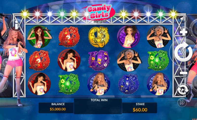 Candy Girls :: Main Game Board