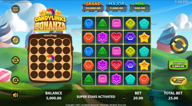Candy Links Bonanza :: Main Game Board