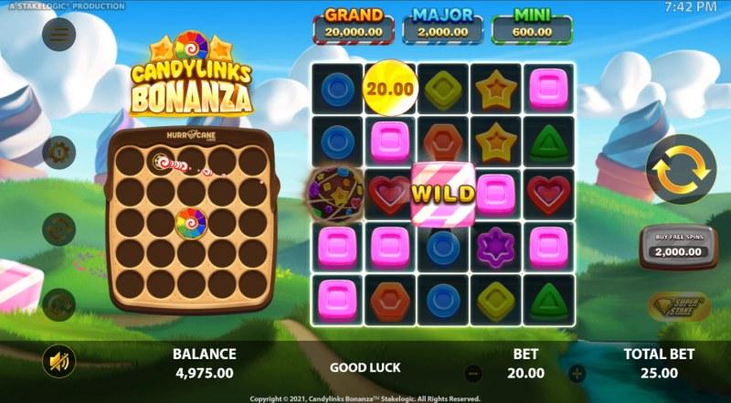 Candy Links Bonanza :: Multiple winning combinations