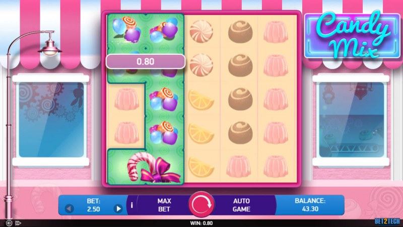 Candy Mix :: Multiple winning paylines