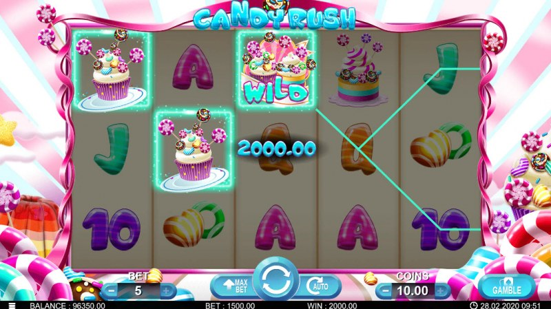Candy Rush :: Three of a kind