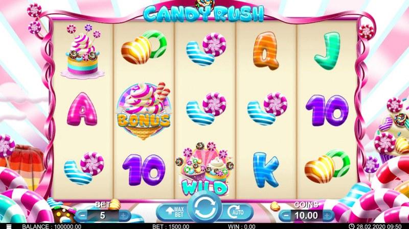 Candy Rush :: Main Game Board