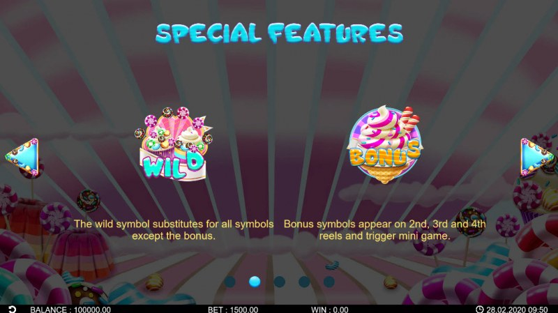 Candy Rush :: Wild Symbols Rules
