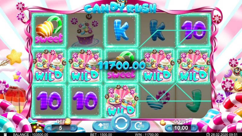 Candy Rush :: Five of a kind
