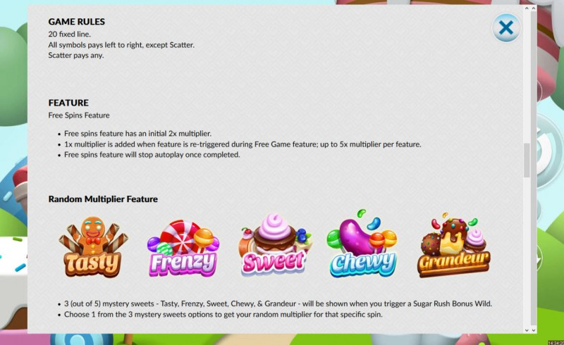 Candy Smash :: Random Features
