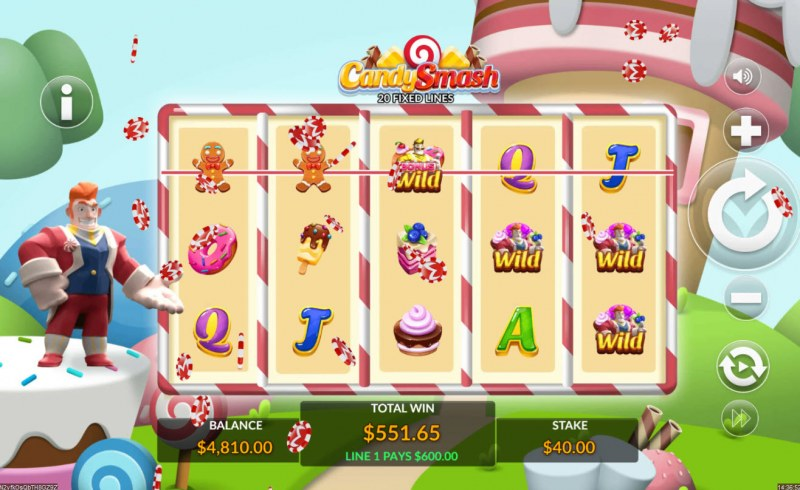 Candy Smash :: Big Win