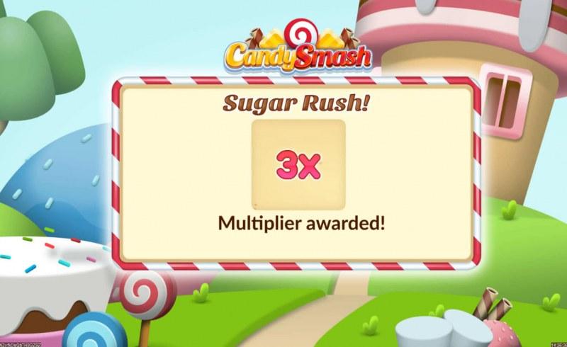 Candy Smash :: 3x multiplier awarded