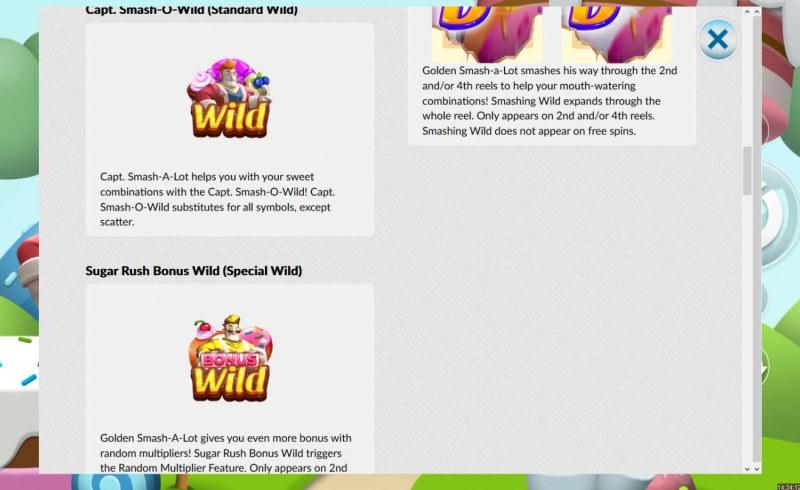 Candy Smash :: Wild Symbols Rules