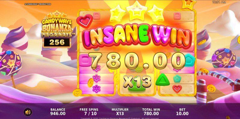 Candyways Bonanza Megaways :: Insane Win