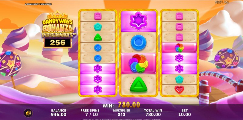 Candyways Bonanza Megaways :: Multiple winning combinations lead to a big win